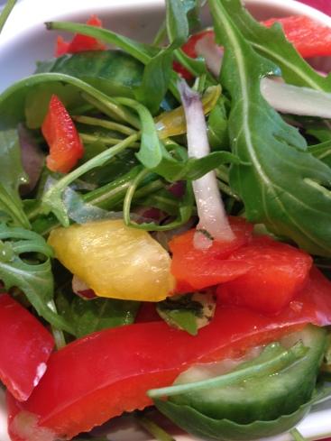 Leo goes Paleo salade