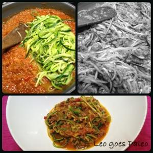 Leo goes Paleo  PaLeo spaghetti 2.0
