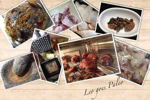 Leo goes Paleo collage kip